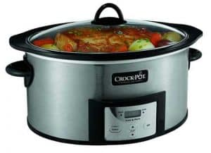 Slow Cooker with Safe Cooking Pot