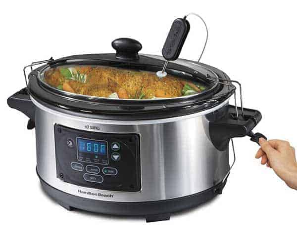 Hamilton Beach Set & Forget 33969A 6 quart Slow Cooker