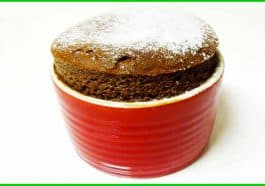 how to make giant chocolate soufflés