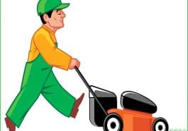 how to mow the lawn safely