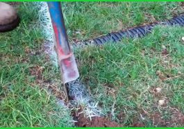 how to repair a lawn