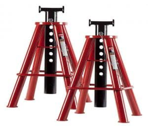 Sunex Medium Height Pin Type Jack Stands