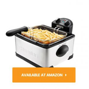 Chefman Deep Fryer with Basket Strainer review