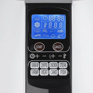 GoWISE USA GW22611 8-in-1 Digital Display