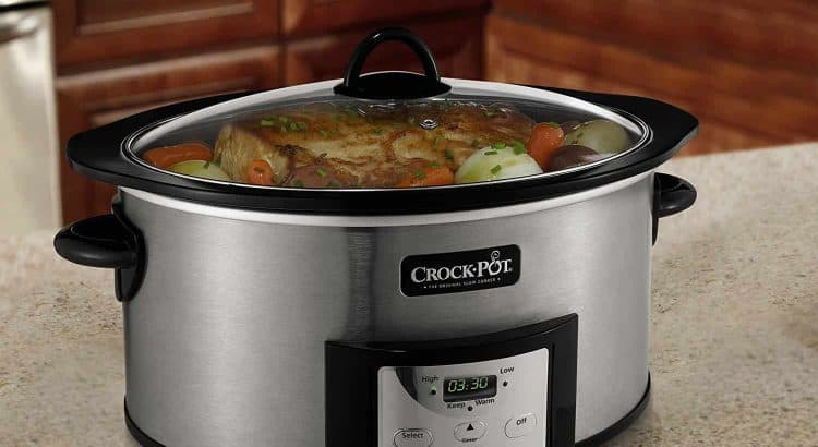 Crock-Pot SCCPVI600-S Countdown Slow Cooker
